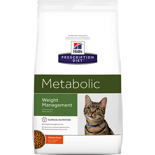 Metabolic Dry product for cat