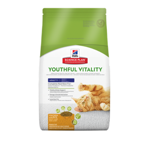 product science plan youthful vitality for cats
